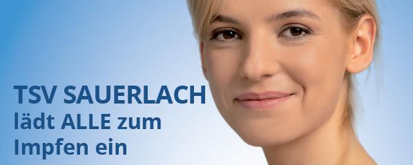 TSV Sauerlach lädt ALLE zum Impfen ein